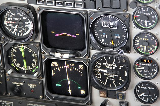 Aircraft, Instruments, Beechcraft, 1900d