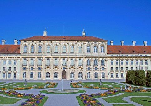Berlin, Charlottenburg Palace, Old, Historically