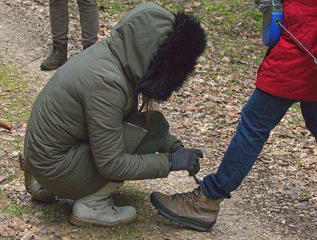 Shoelace, Tie Shoes, Bind, Shoelaces, Hiking, Hike