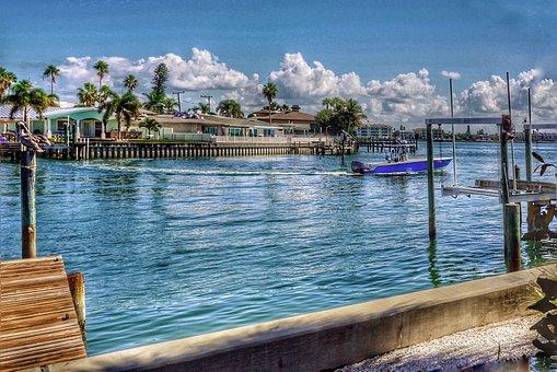 Florida, Boating, Vacation, Sea