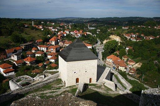 Old Town, Bosnia, Bosnia And Herzegovina, Fortress