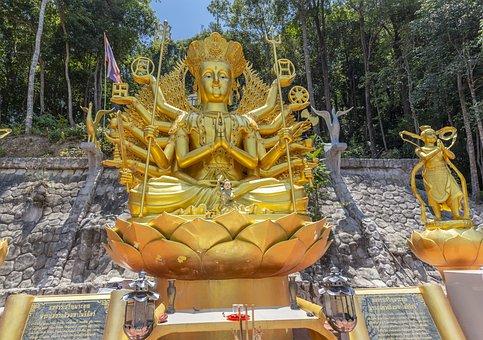 Statue, Buddhism, Asia, Buddha, Religion, Temple