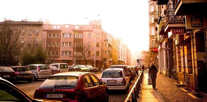 Evening, Street, Architecture, Light, Urban, Building