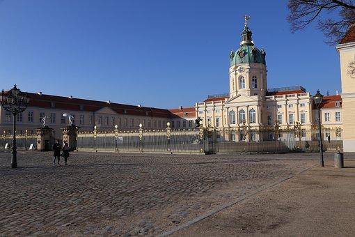Castle, Romantic, Architecture, Berlin