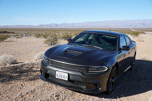 Auto, Car, Muscle Car, Dodge, Charger, R T, Nevada