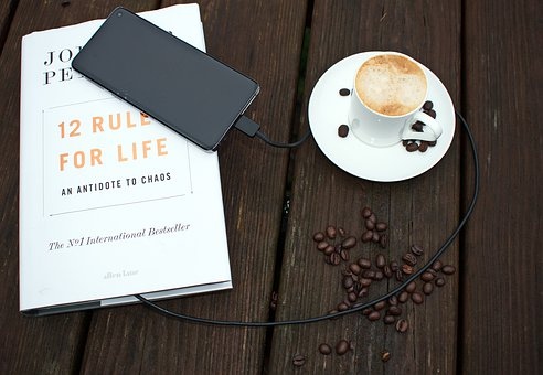 Rules For Life, Phone, Coffee, Coffee Beans, Drink