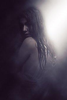 Dark, Moody, Atmosphere, Halloween, Creative, Art