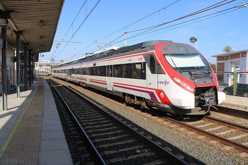 Cadiz, Railway, Trains, Cut, Station Cut, Station