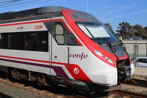 Cadiz, Railway, Station Cut, Cut, Station, Travel