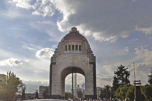 Monument To The Revolution, History, Mexico City