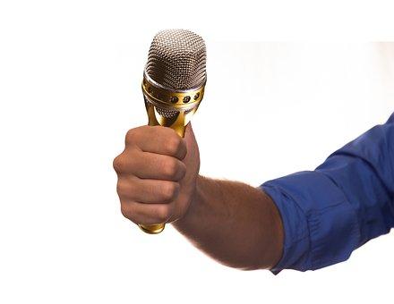 Interview, Microphone, Mic, Media, Radio