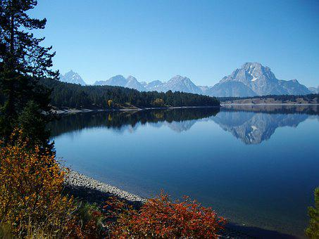 Lake, Nature, Park, National Park