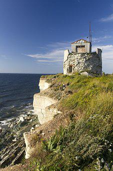 Old Lighthouse, Baltic Sea, Travel, Coast, Lighthouse