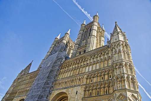Cathedral, Spires, Lincoln, Imposing, Architecture