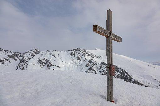 Mountain, Summit, Mountain Healing, Winter, Mountains