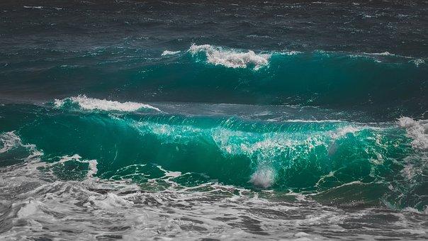 Waves, Splash, Water, Sea, Nature, Splashing, Spray