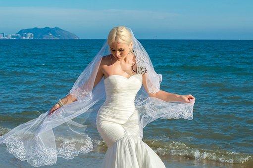 China, Sanya, The Photo Of The Bride, On The Island