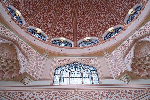 Cami, Islam, Dome, Red, Ornament, Architecture