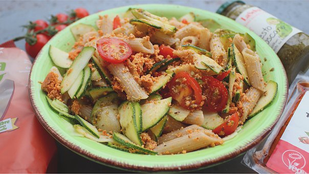 Noodles, Pasta, Zucchini, Recipe, Eat, Meal, Lunch