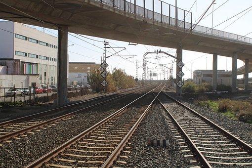 Cadiz, Railway, Trains, Train, Station Cut, Cut