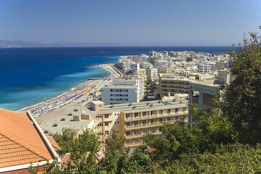 Rhodos, Greece, Landscape, Greek, Island