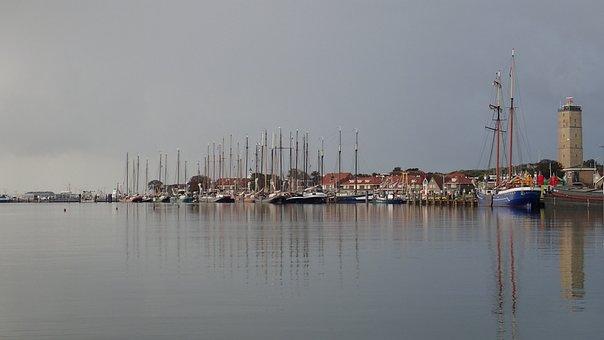 Port, Sea, Boat, Ocean, Beach, Holiday