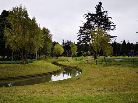 Park, Nature, Simon Bolivar Park Of Bogota, Bogotá