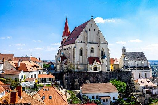 Znojmo, Czech Republic, Moravia, Dom, Church, Sudeten