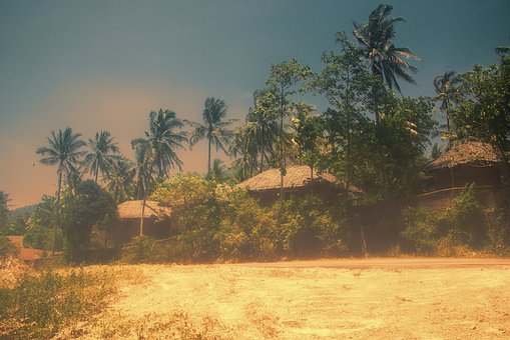 Thailand, Vacations, Sand, Sunset, Scenics, Idyllic