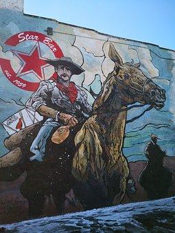 Graffiti, Denver, Colorado, Usa, City, Urban