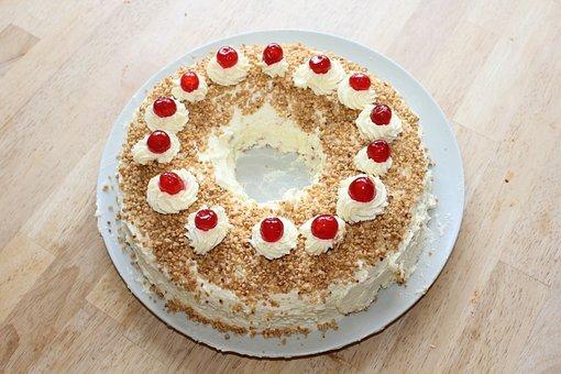 Cake, Frankfurt Wreath, Wreath Form, Pie Specialty