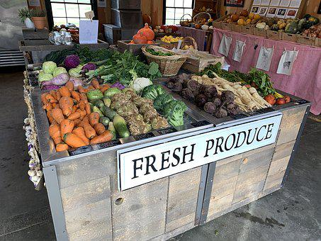 Farm, Produce, Farm Stand, Agriculture, Grocery, Fresh