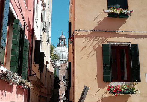 Venice, Calle, Historian, Buildings