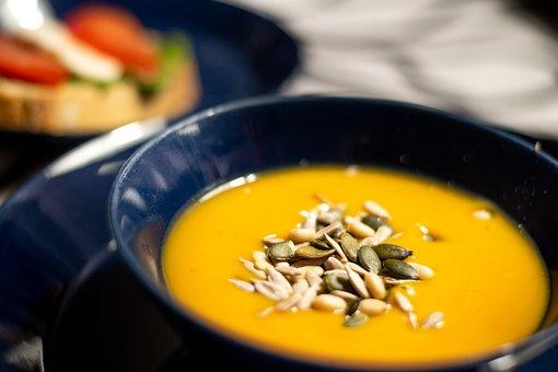 Food, Soup, Blue, Health, Vegetarian, Kitchen, Cooking