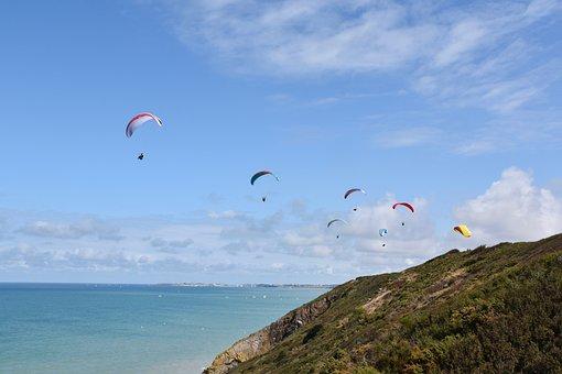 Paragliding, Fifth Wheel, Paraglider