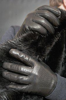 Leather, Leather Gloves, Gloves, Fashion, Glamour