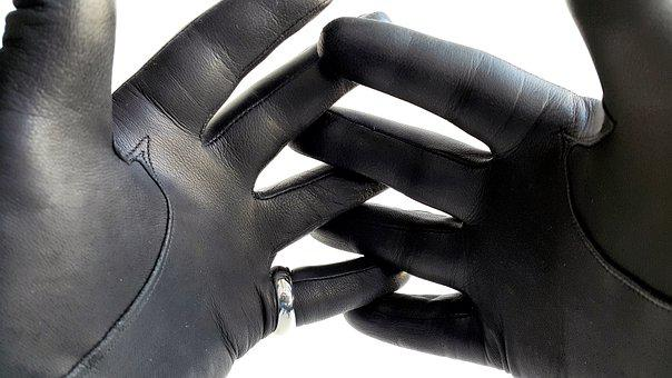 Leather, Leather Gloves, Gloves, Fashion, Hand