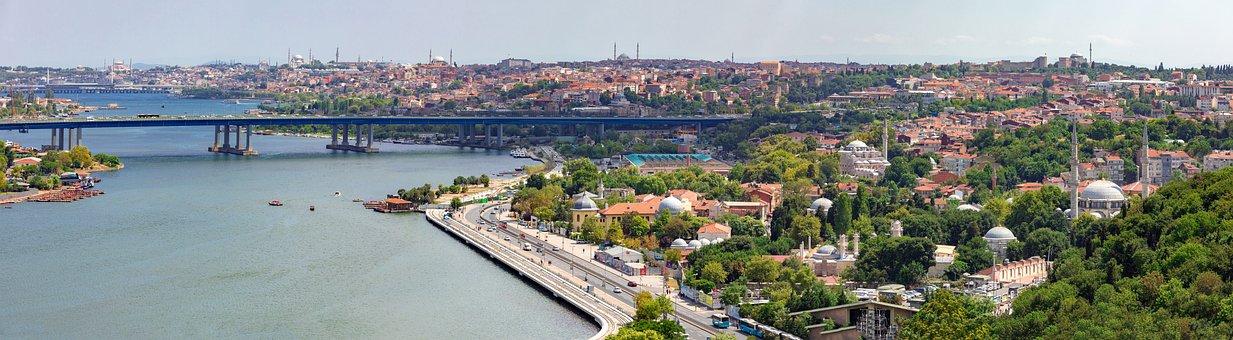 Panorama, Eyupsultan, Istanbul, Ottoman, Peninsula