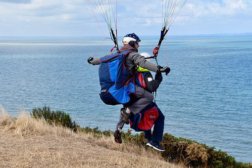 Paragliding, Tandem Paragliding, Paragliders, Fly
