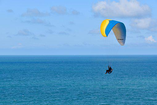 Paragliding, Fifth Wheel, Paraglider, Paraglider Wing
