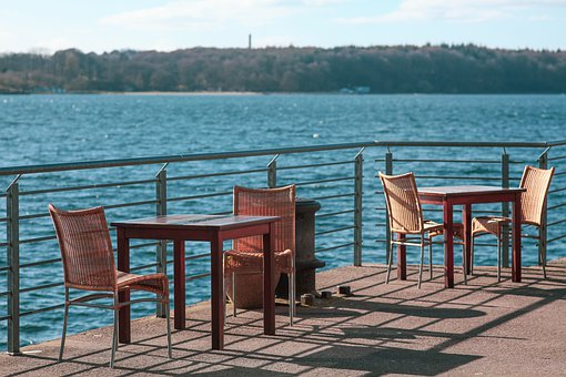 Ambience, Sea, Flensburg, Dining Tables, Chairs, Enjoy