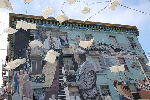 Street Art, San Francisco, Usa, Travel