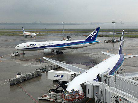 Airport, Tokyo, Arrival, Departure, Summer Games
