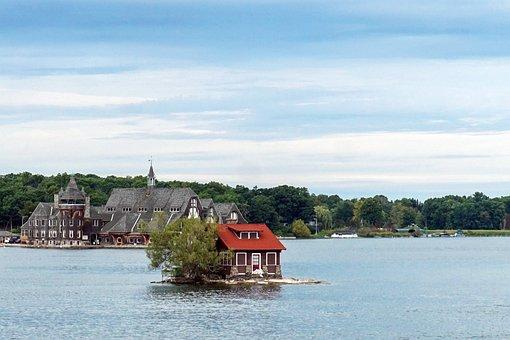 Island, House, Home, Summer, Summer Home