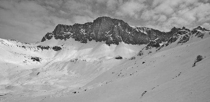 St, Antöni, Mountains, Backcountry Skiiing, Summit