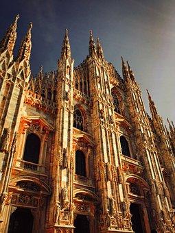 Milan, Europe, Italy, Architecture