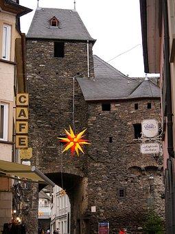 Cochem, Old City, City Gate, Old, Building