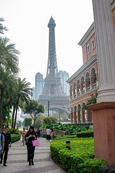 Eiffel Tower, Paris, Macao, Macau, China