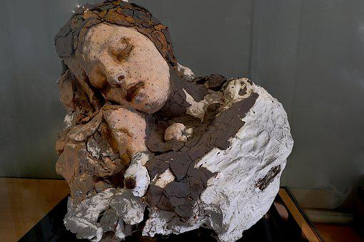 Sculpture, Terracotta, Clay, Colorful, Sculptor