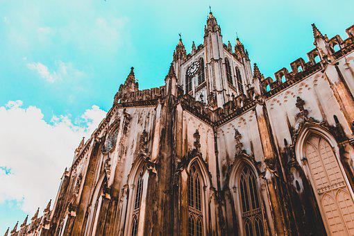 Church, Sky, Cross, Jesus, Castle, Religion